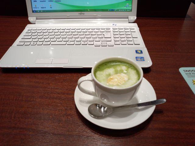 生姜抹茶ミルク